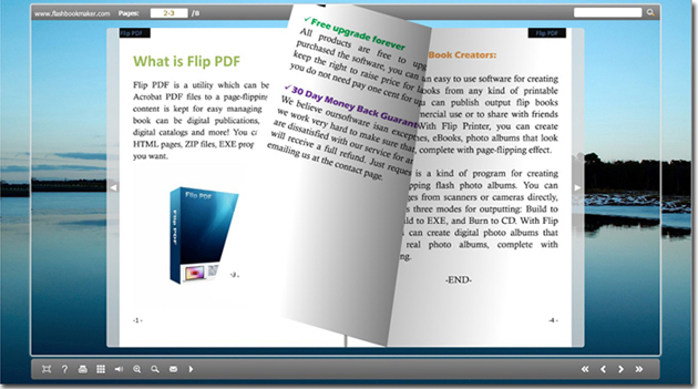 html flip book template - free text to flip book maker free application converts
