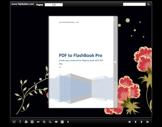 FlashBook Template Pack for Flower